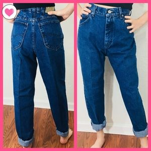Vintage Lee High Waisted Mom Jeans 29 10